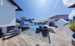 virtual tour 360 posada habitat village